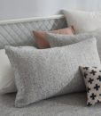 grey marble pillow new