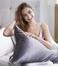charcoal mulberry silk pillow case 3