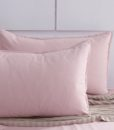 pink corduroy pillow