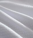 white jersey cotton coverlet detail 1