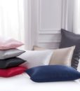 8 colors mulberry silk pillow cases group photo 4