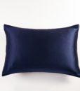 navy blue mulberry silk pillow case 3